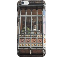Watching from the window, Bruges, Belgium iPhone Case/Skin