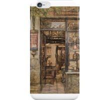 Storefront in Athens Greece iPhone Case/Skin
