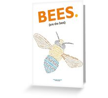 The Blue Banded Bee Greeting Card