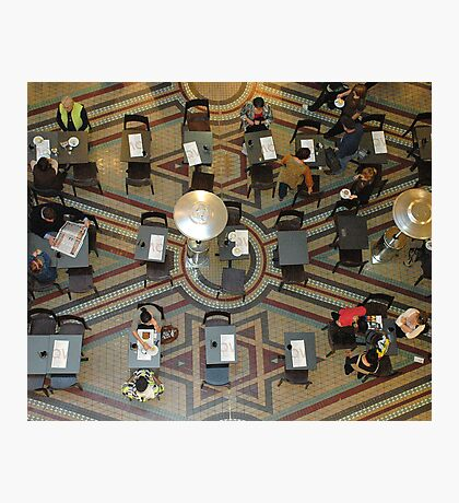 Afternoon tea at the QVB Photographic Print
