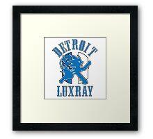 Detroit Luxray (Pokemon Sports Mashup) Framed Print