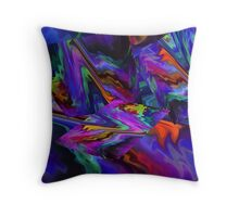 Color Journey Throw Pillow