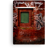Window to Nowhere Canvas Print