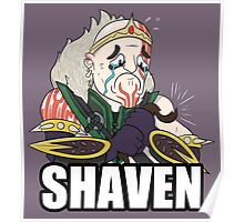 League of Shaven Poster