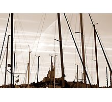Marseille - from the harbour Photographic Print