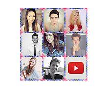 Youtube Stars by XhannahlongX