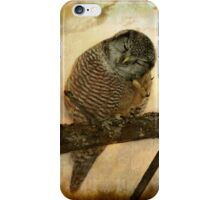 Whispered in the sounds of silence iPhone Case/Skin