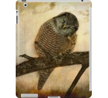 Whispered in the sounds of silence iPad Case/Skin