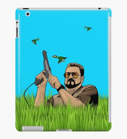 Duck hunting on Shabbos (Digital Duesday #1) iPad Case/Skin