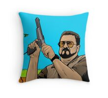 Duck hunting on Shabbos (Digital Duesday #1) Throw Pillow