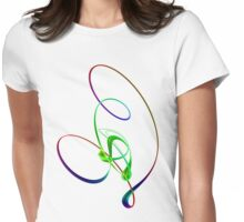 Dance With Me Womens Fitted T-Shirt