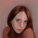 Portrait of Samantha by ShellzArt