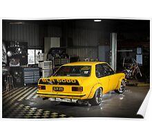 Ricci Camilleri's Holden Torana Poster