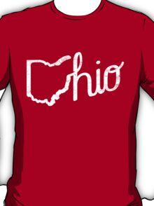 O-hio (White Print) T-Shirt