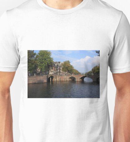 Amsterdam Stone Arch Bridge Unisex T-Shirt