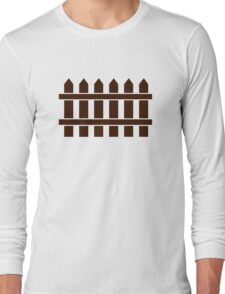 Wooden fence Long Sleeve T-Shirt