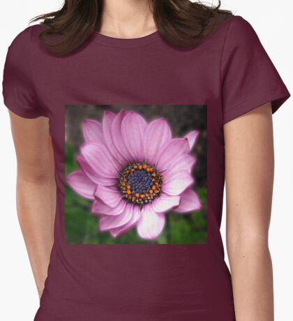 Sunlit Petals - So Pretty in Pink! Womens Fitted T-Shirt