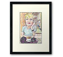 Kari at Poppi's Framed Print