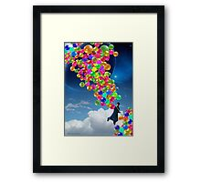 Qalander, The Extrasolar Balloon Wala Framed Print