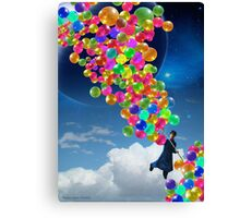 Qalander, The Extrasolar Balloon Wala Canvas Print