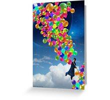 Qalander, The Extrasolar Balloon Wala Greeting Card