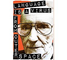 William S. Burroughs (Beat Writer) Photographic Print