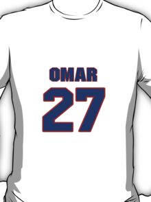 National baseball player Omar Olivares jersey 27 T-Shirt