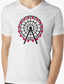 Ferris wheel Mens V-Neck T-Shirt