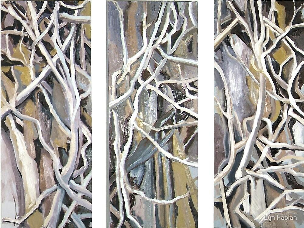 Triptych (Entangled) by Lyn Fabian