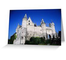 Castle Steen - Antwerp Greeting Card
