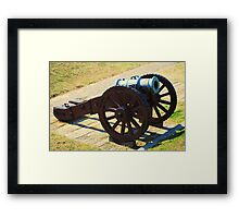 Cannon From Yorktown Virginia Framed Print