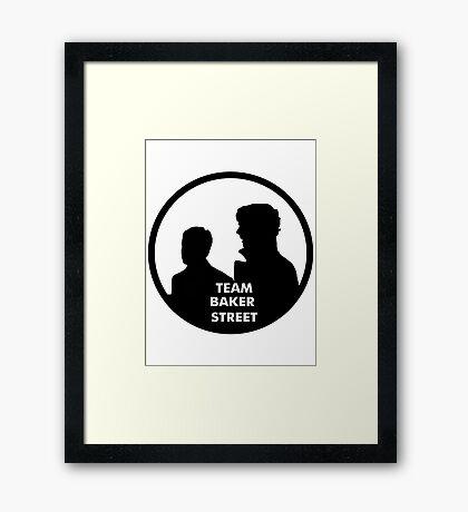 TEAM BAKER STREET Framed Print