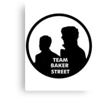 TEAM BAKER STREET Canvas Print