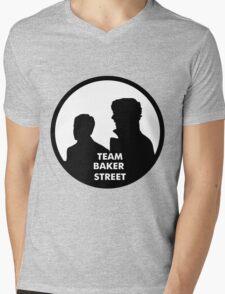 TEAM BAKER STREET Mens V-Neck T-Shirt