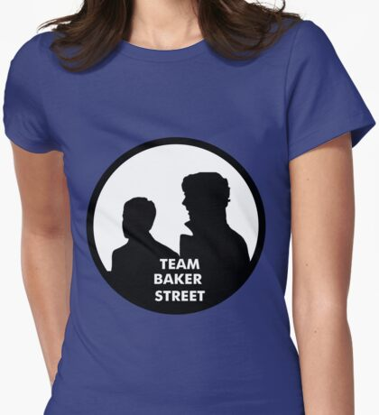 TEAM BAKER STREET Womens Fitted T-Shirt
