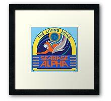 Seabase Alpha The Living Seas Framed Print