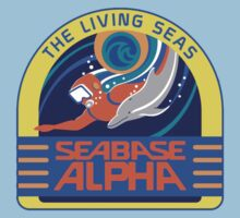 Seabase Alpha The Living Seas T-Shirt