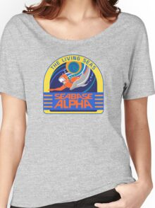 Seabase Alpha The Living Seas Women's Relaxed Fit T-Shirt