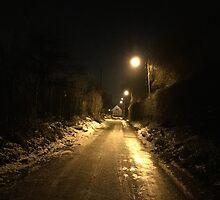 Streetlights and Snow by kindigo