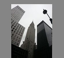 Gray Sky New York City by MissCellaneous