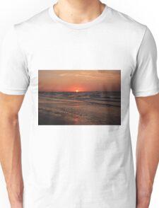 Normandy Beach At Sunset Unisex T-Shirt