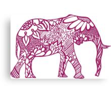 Elephant_aroon Canvas Print