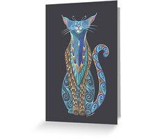 Cat Totem Greeting Card