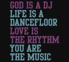 God is a DJ by Angela Millear