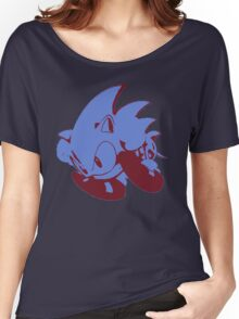 Minimalist Sonic 2 Women's Relaxed Fit T-Shirt