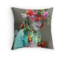 Part of the 'Let Me entertain You' series of Street performers Throw Pillow