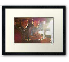 Sunshine & Guiness Framed Print