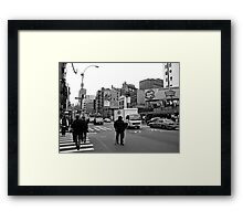 Lafayette & Canal Framed Print