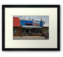 Cup & Sauser restaurant Framed Print