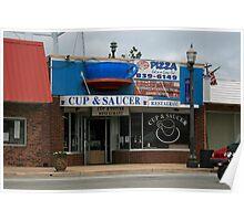 Cup & Sauser restaurant Poster